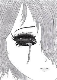 grafika łza