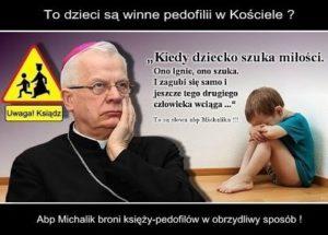 Michalik pedofilia